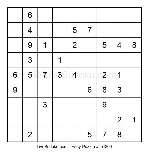 Beginners Puzzle #251309