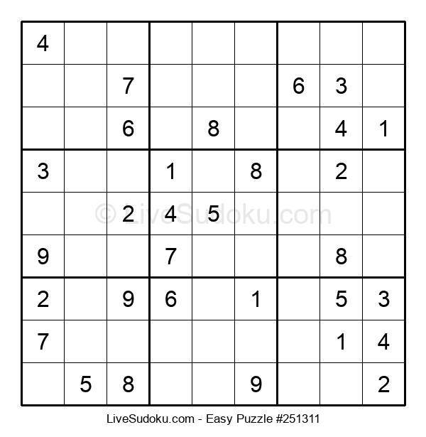 Beginners Puzzle #251311