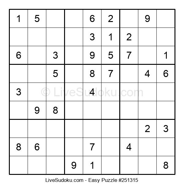 Beginners Puzzle #251315