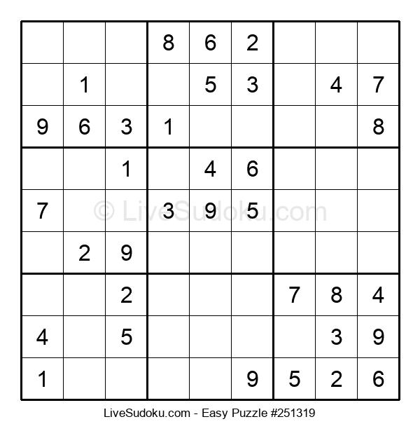 Beginners Puzzle #251319