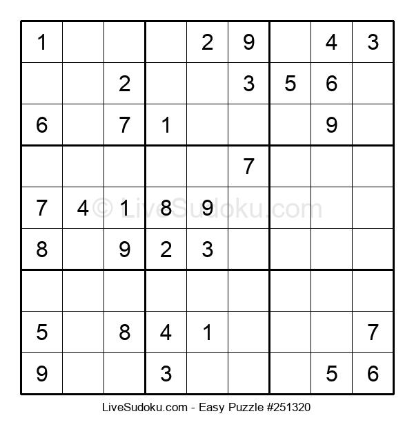 Beginners Puzzle #251320