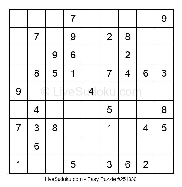Beginners Puzzle #251330
