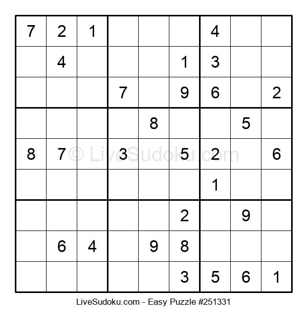 Beginners Puzzle #251331