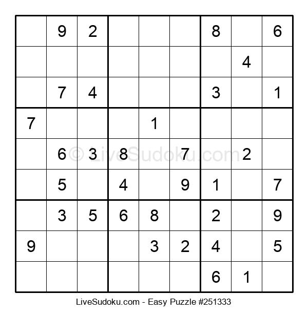 Beginners Puzzle #251333