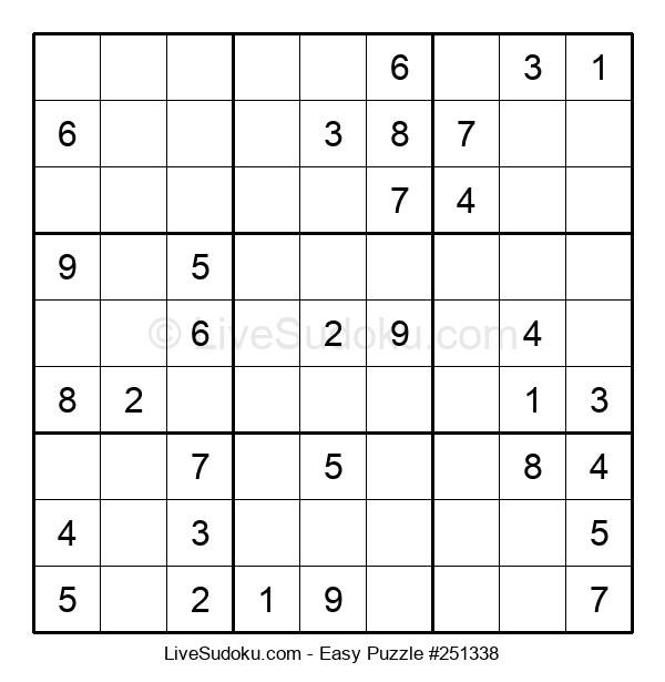 Beginners Puzzle #251338
