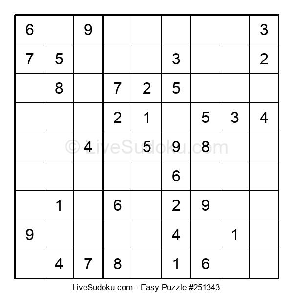 Beginners Puzzle #251343