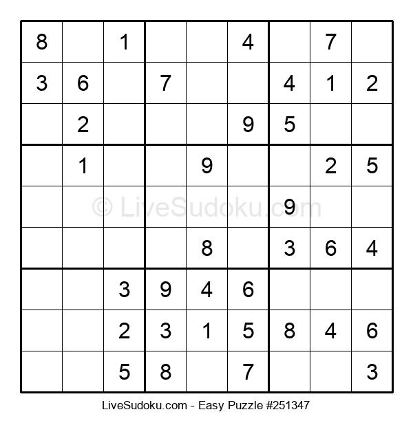 Beginners Puzzle #251347
