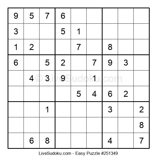 Beginners Puzzle #251349