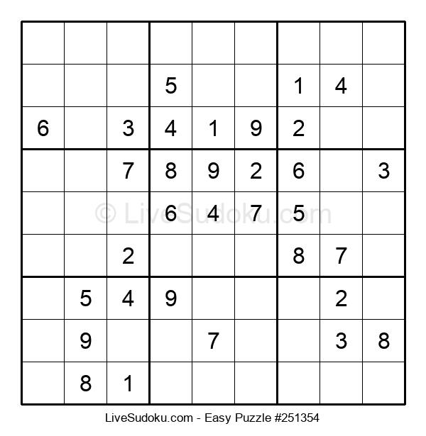 Beginners Puzzle #251354
