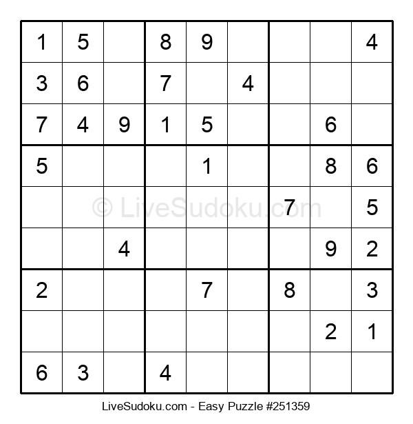 Beginners Puzzle #251359