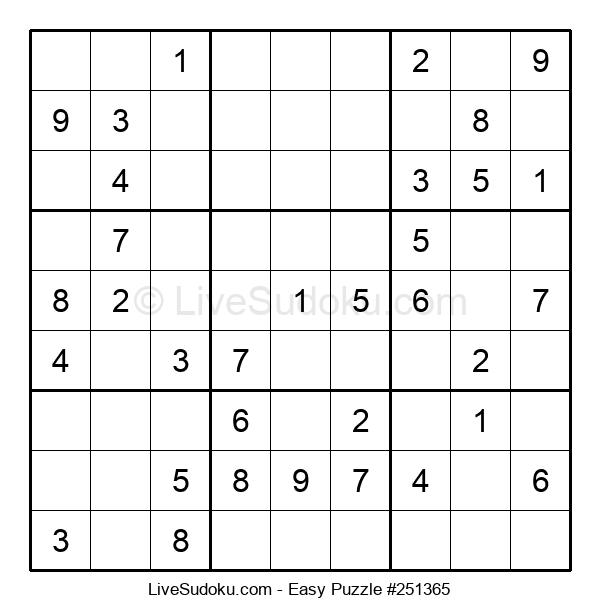Beginners Puzzle #251365