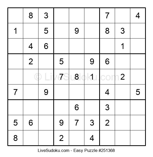 Beginners Puzzle #251368