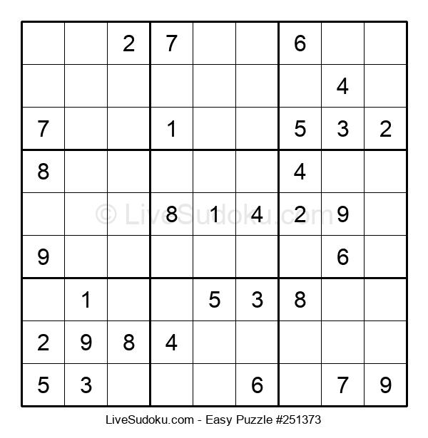 Beginners Puzzle #251373