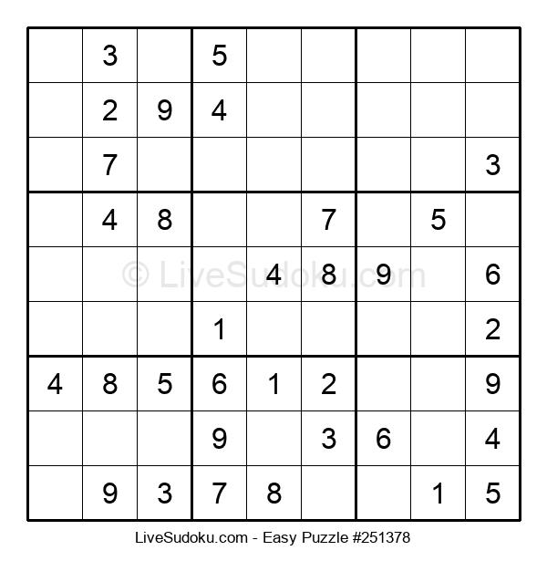 Beginners Puzzle #251378