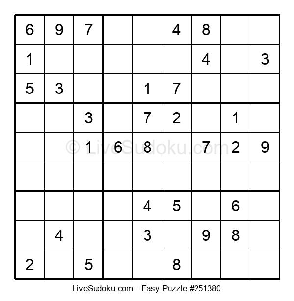 Beginners Puzzle #251380