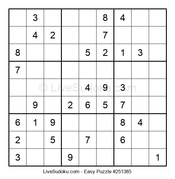 Beginners Puzzle #251385