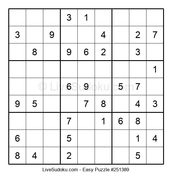 Beginners Puzzle #251389