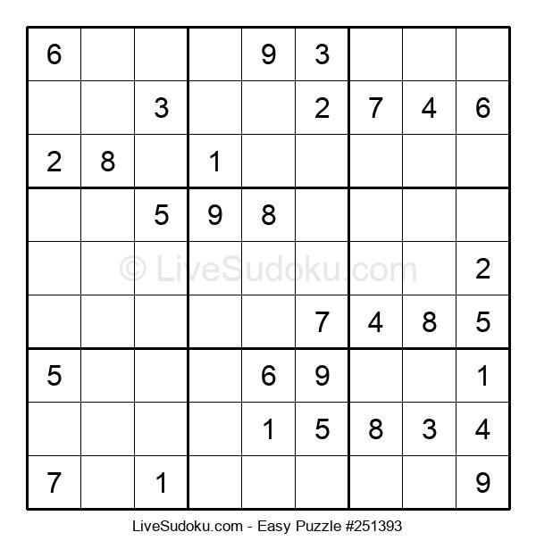 Beginners Puzzle #251393