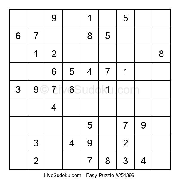 Beginners Puzzle #251399