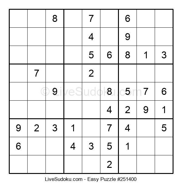 Beginners Puzzle #251400