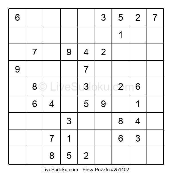 Beginners Puzzle #251402
