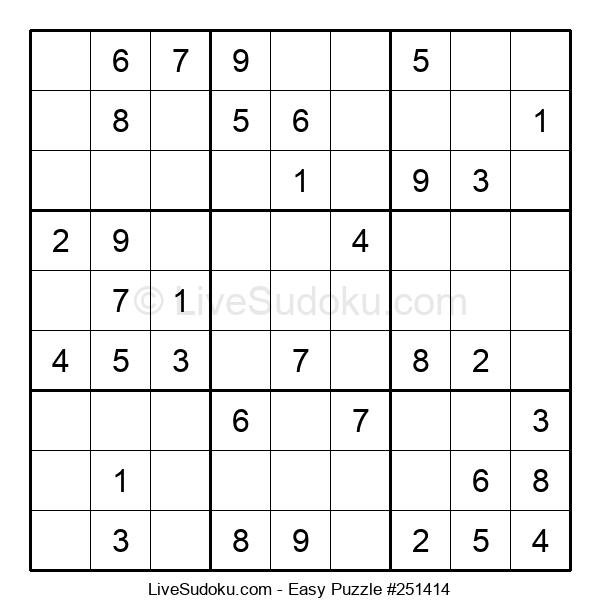 Beginners Puzzle #251414