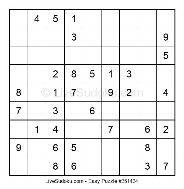 Beginners Puzzle #251424