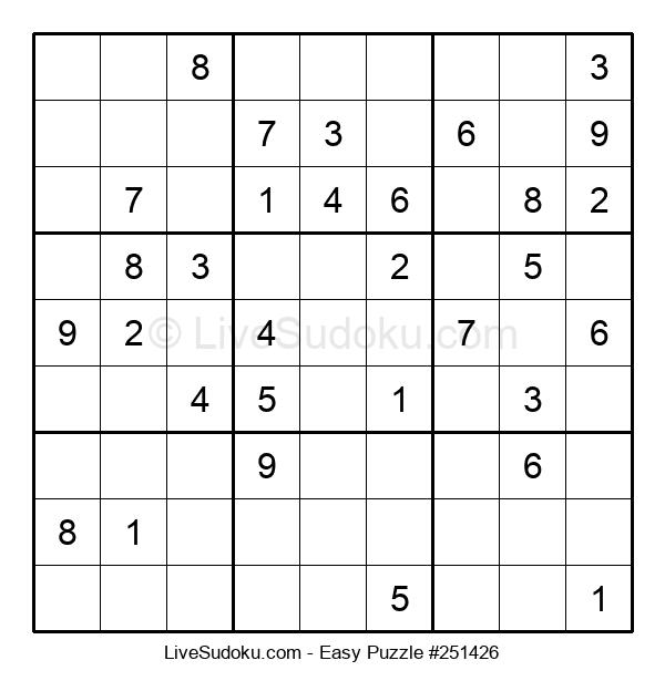 Beginners Puzzle #251426