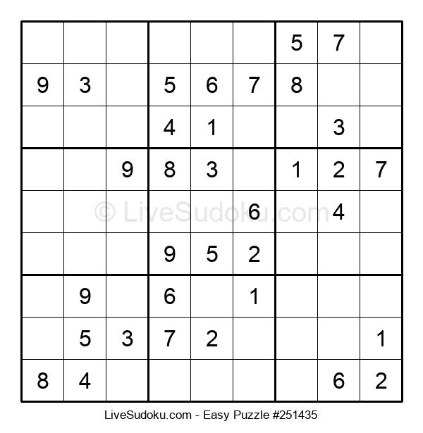 Beginners Puzzle #251435