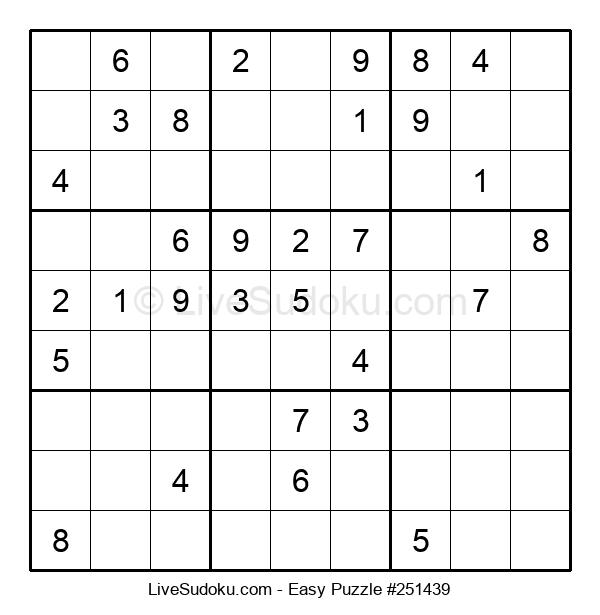 Beginners Puzzle #251439