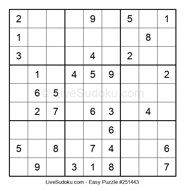Beginners Puzzle #251443