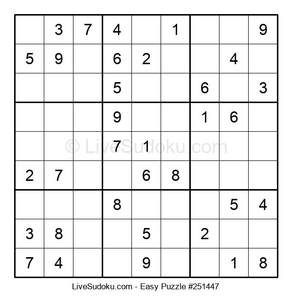 Beginners Puzzle #251447