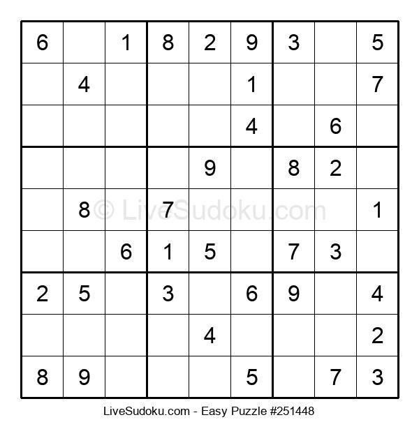 Beginners Puzzle #251448