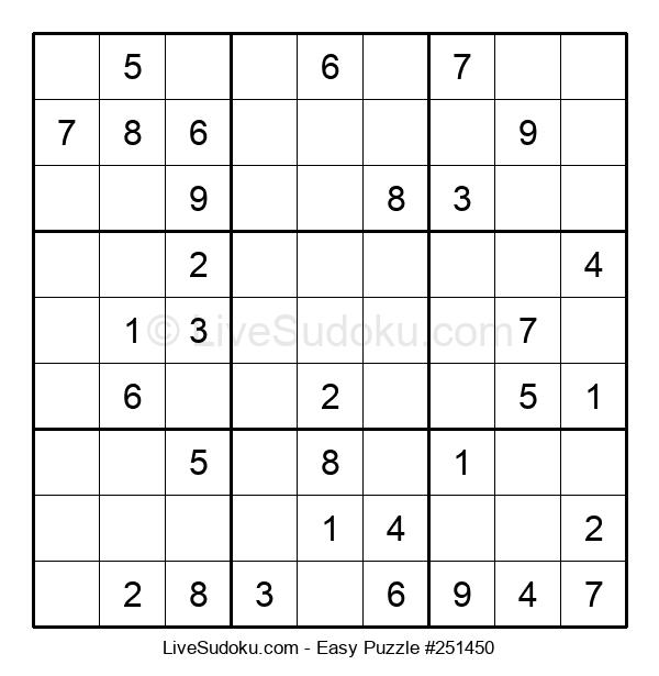 Beginners Puzzle #251450