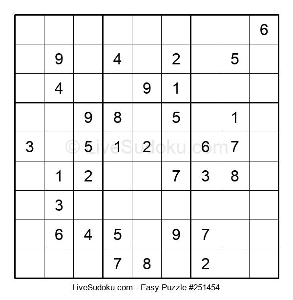Beginners Puzzle #251454
