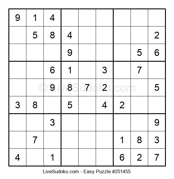 Beginners Puzzle #251455