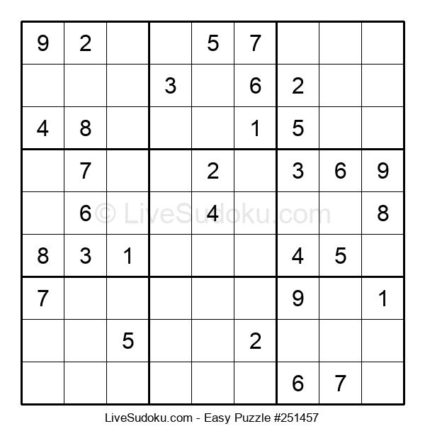 Beginners Puzzle #251457
