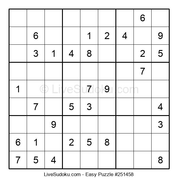 Beginners Puzzle #251458