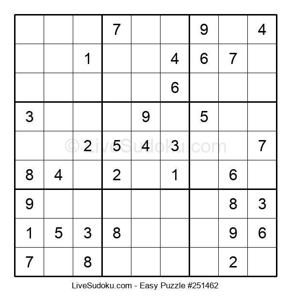 Beginners Puzzle #251462