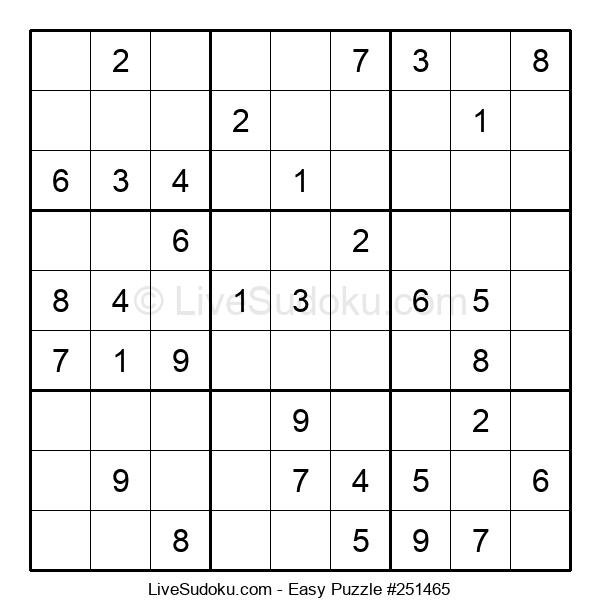 Beginners Puzzle #251465