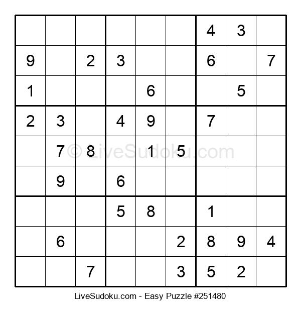 Beginners Puzzle #251480