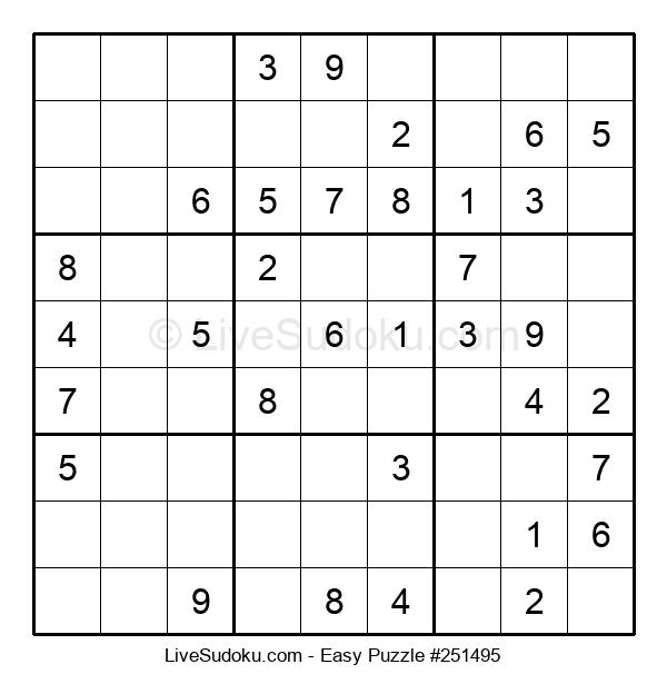 Beginners Puzzle #251495