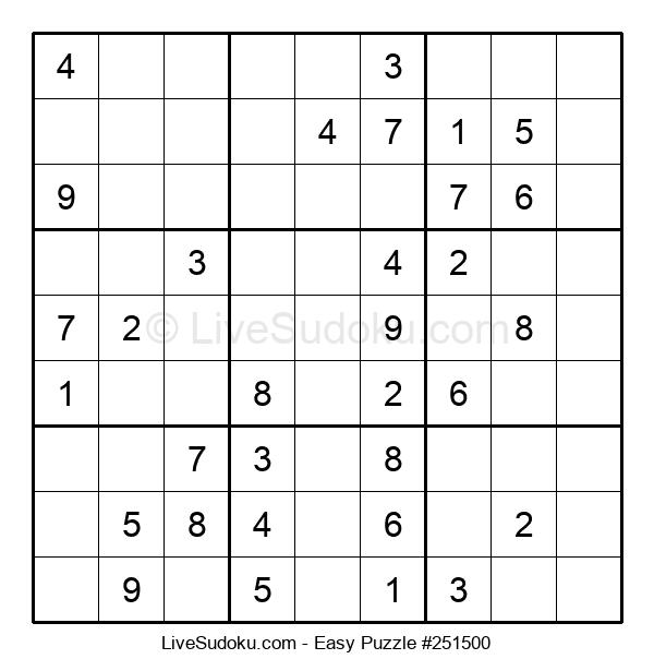 Beginners Puzzle #251500
