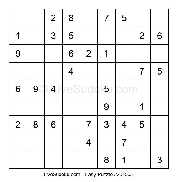Beginners Puzzle #251503