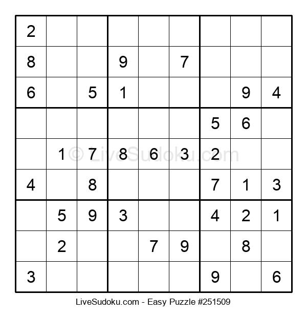 Beginners Puzzle #251509