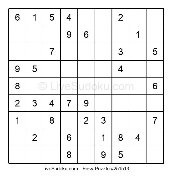 Beginners Puzzle #251513