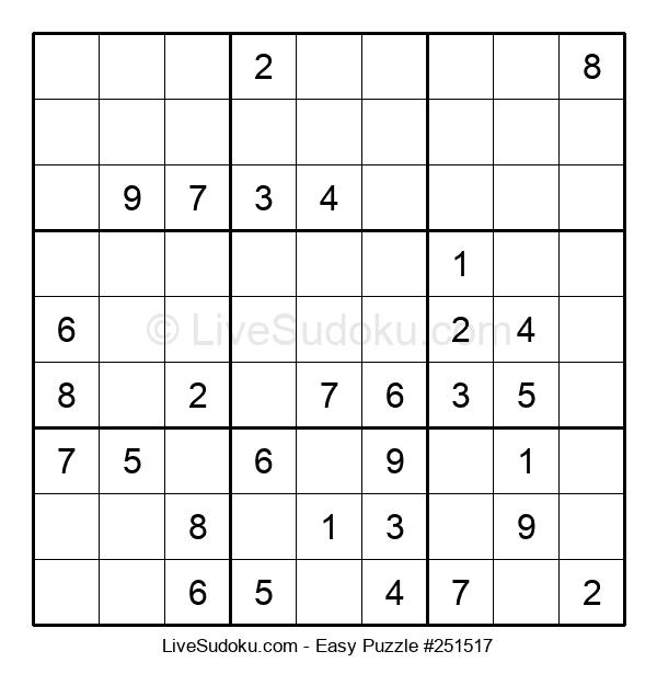 Beginners Puzzle #251517