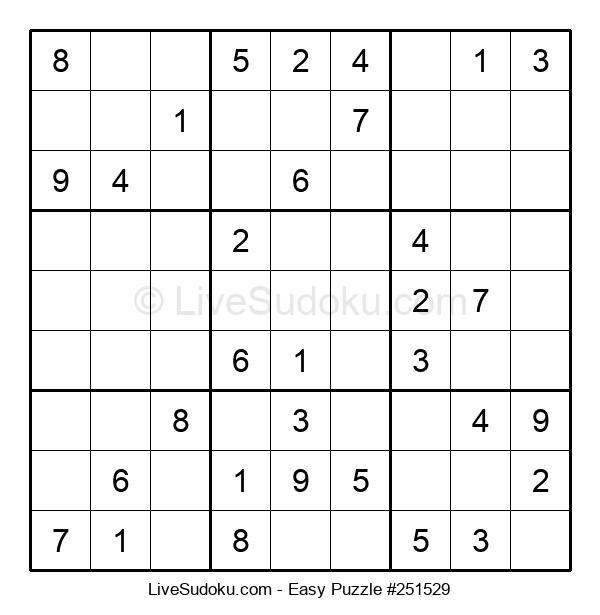 Beginners Puzzle #251529