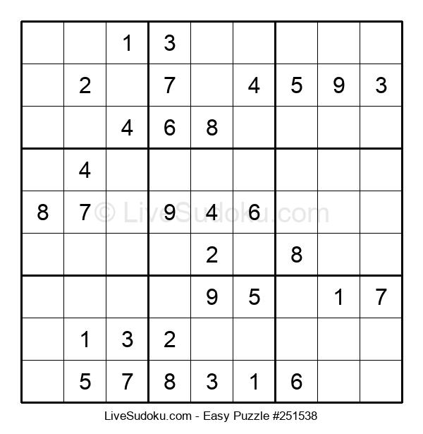 Beginners Puzzle #251538