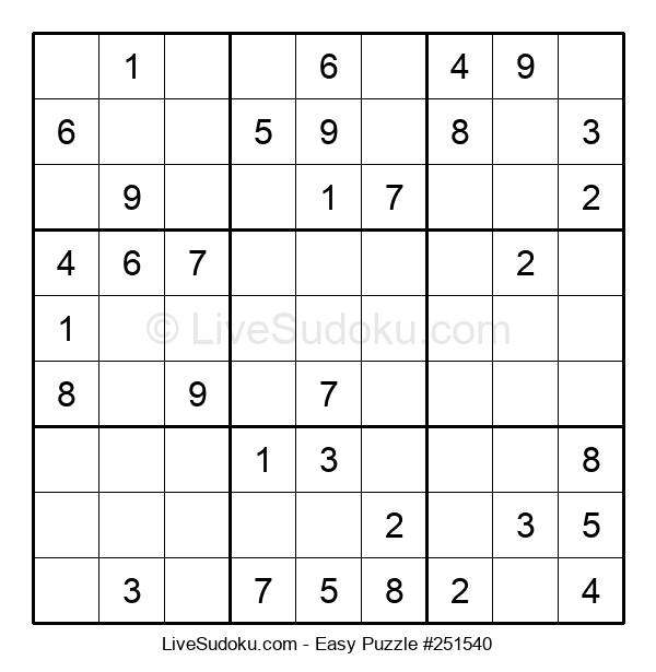 Beginners Puzzle #251540